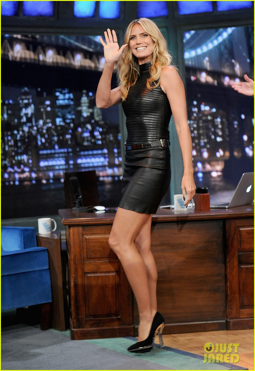heidi klum terrified to film parks recreation guest spot 01
