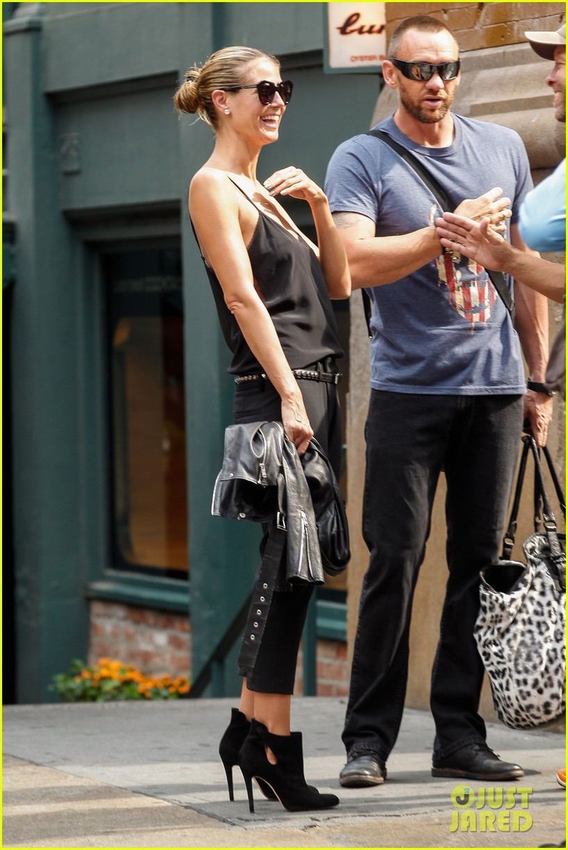 heidi klum martin kirsten soho morning stroll couple 132950010