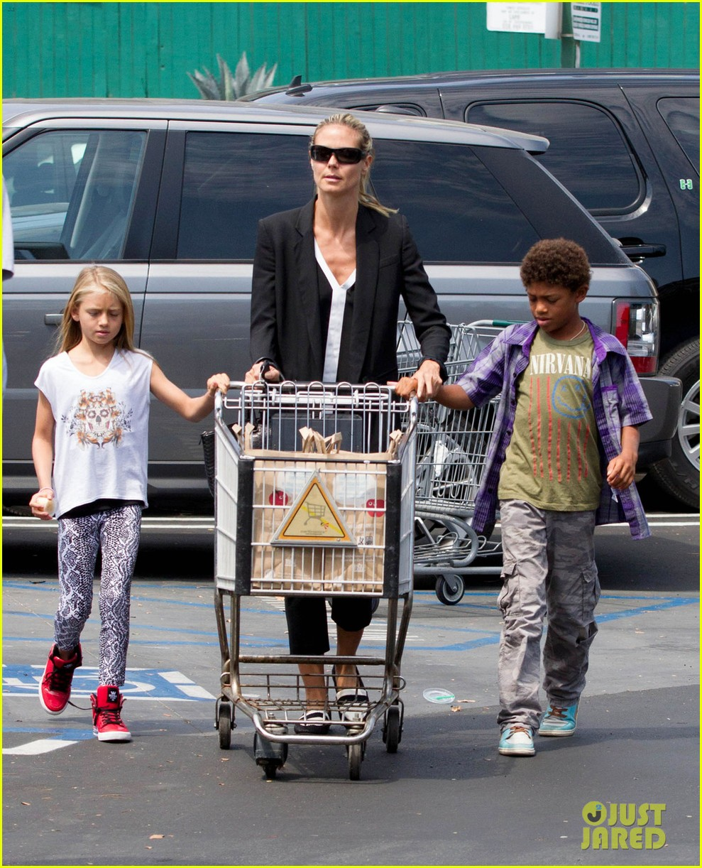 heidi klum martin kirsten soho morning stroll couple 182950015