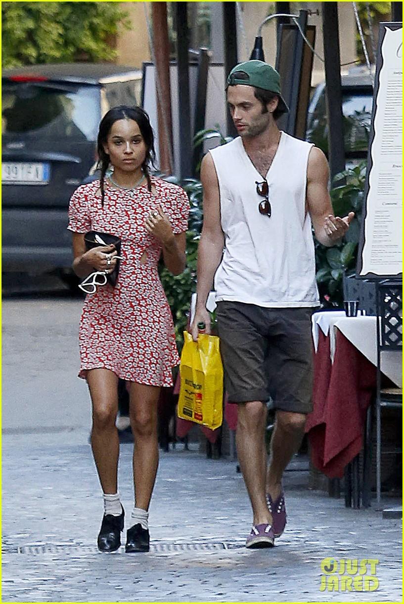 Zoe Kravitz Boyfriend Penn Badgley