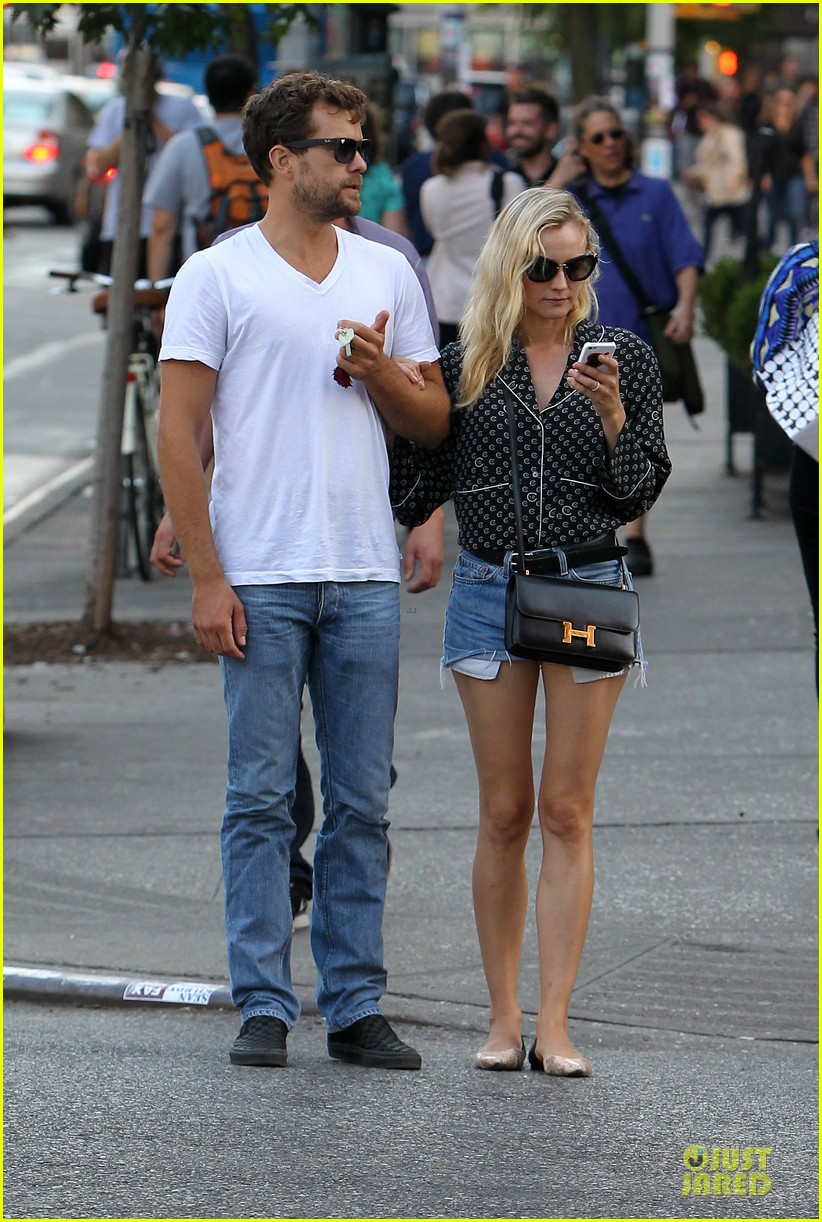 diane kruger joshua jackson hook arms for nyc stroll 162956894
