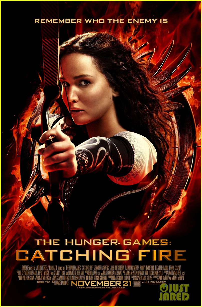 jennifer lawrence new hunger games catching fire poster2963221