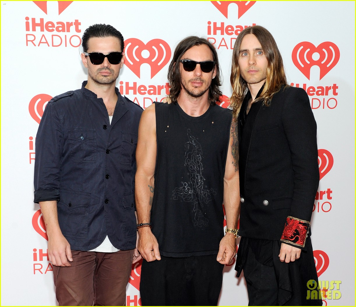 adam levine jared leto iheartradio performances 102957308