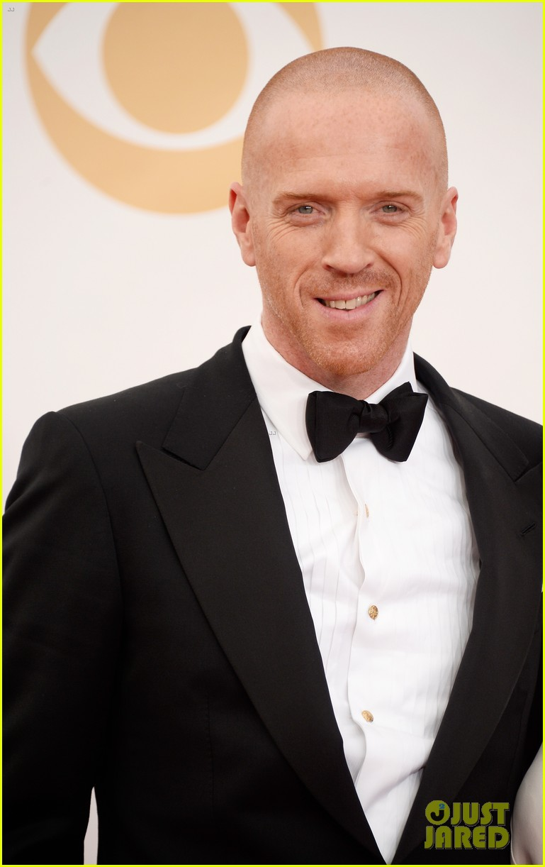 damian lewis emmys 2013 red carpet with helen mccrory 052958347