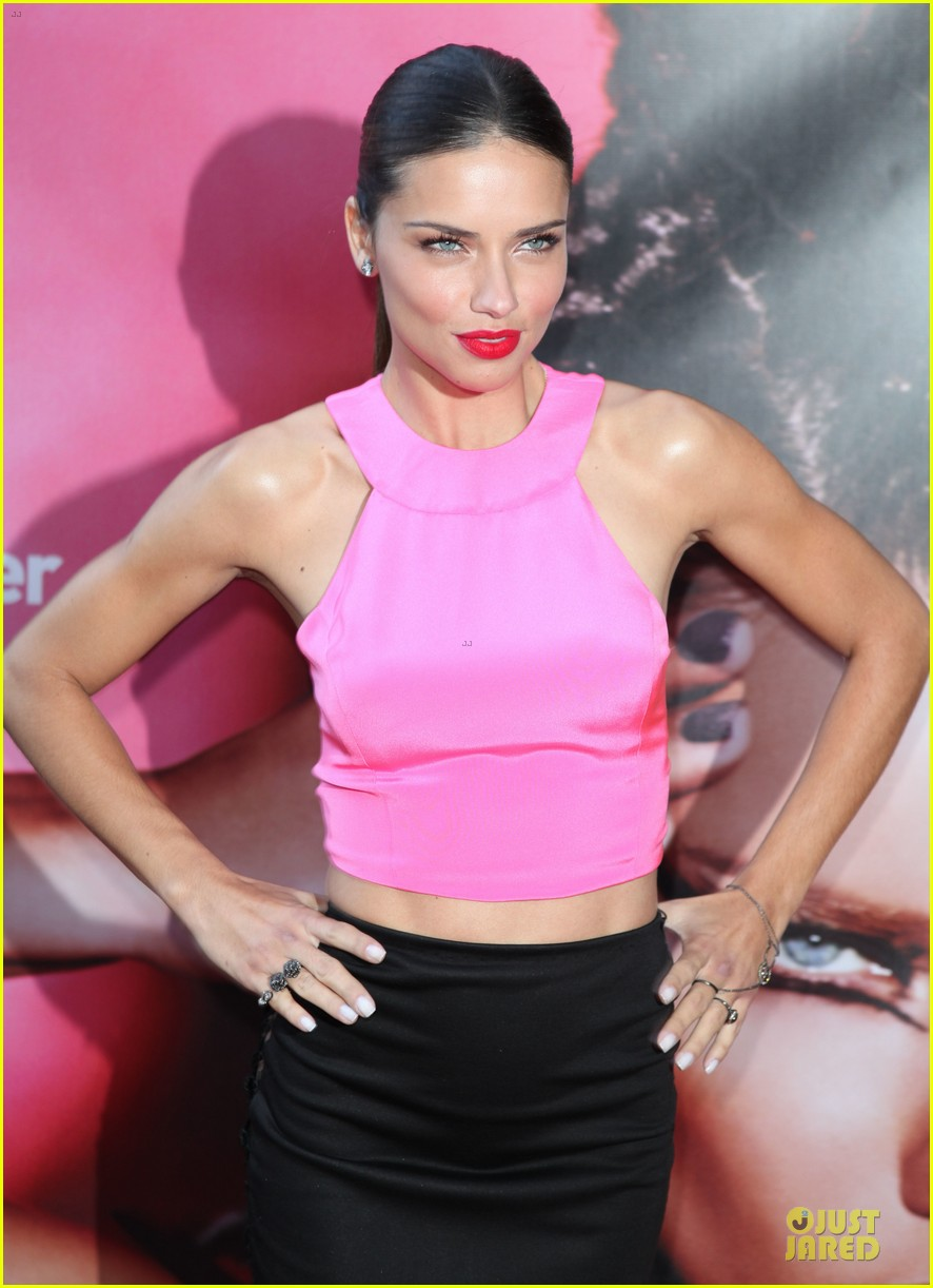adriana lima blushes after being questioned about virginity 022948687