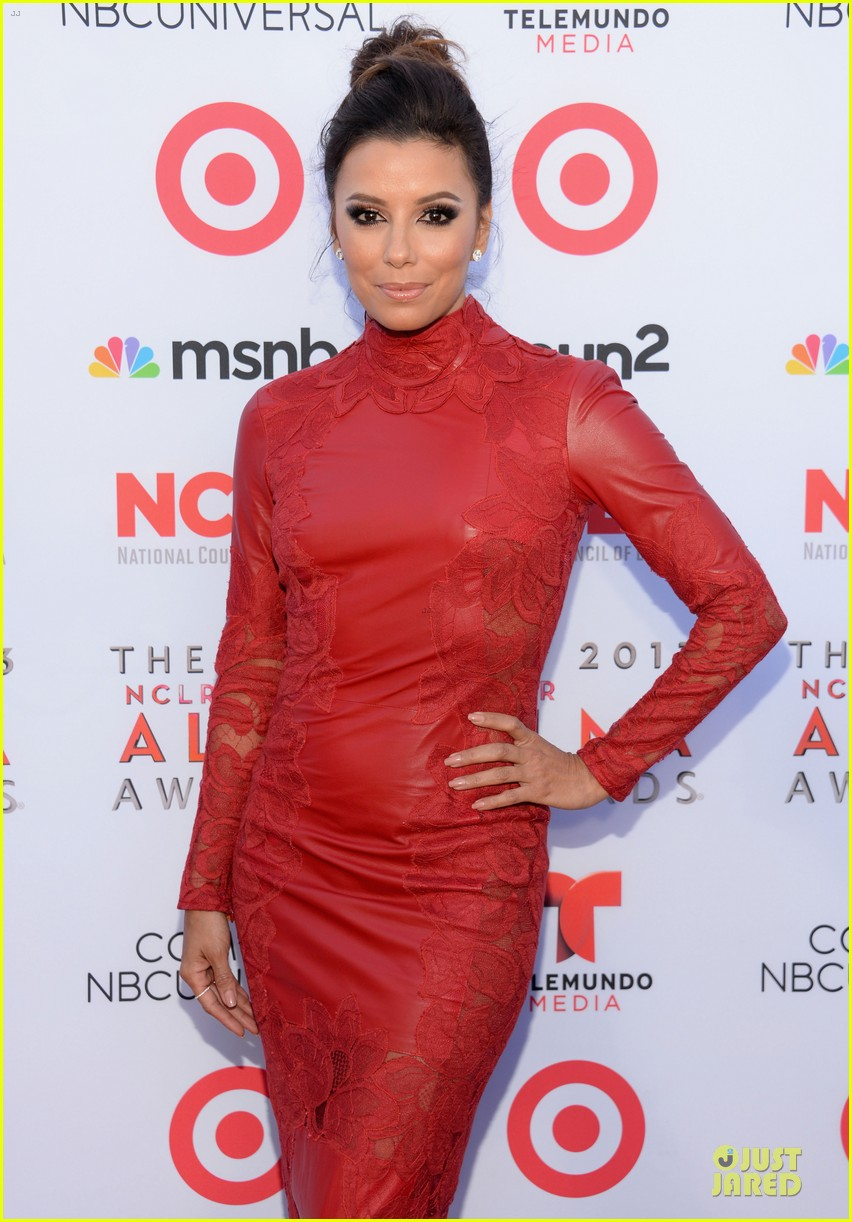 eva longoria multiple dresses as nclr alma awards host 06