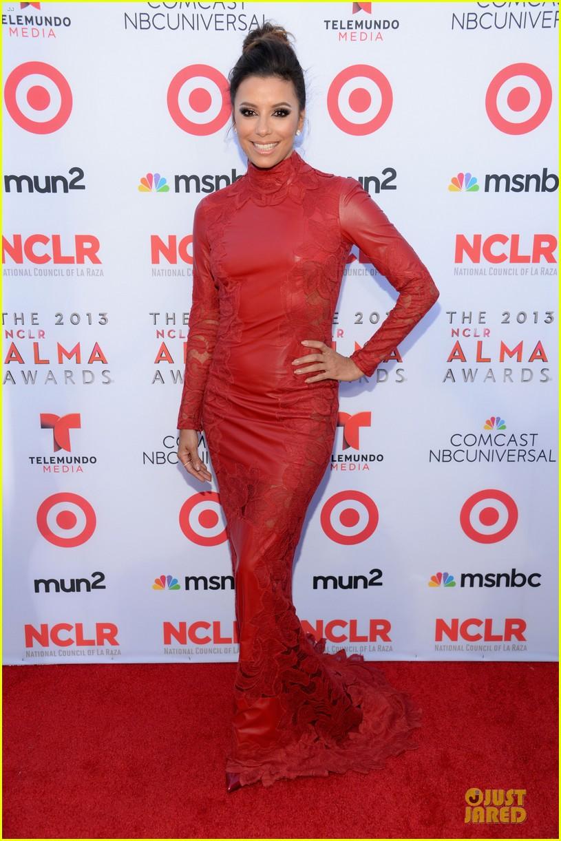 eva longoria multiple dresses as nclr alma awards host 162961520