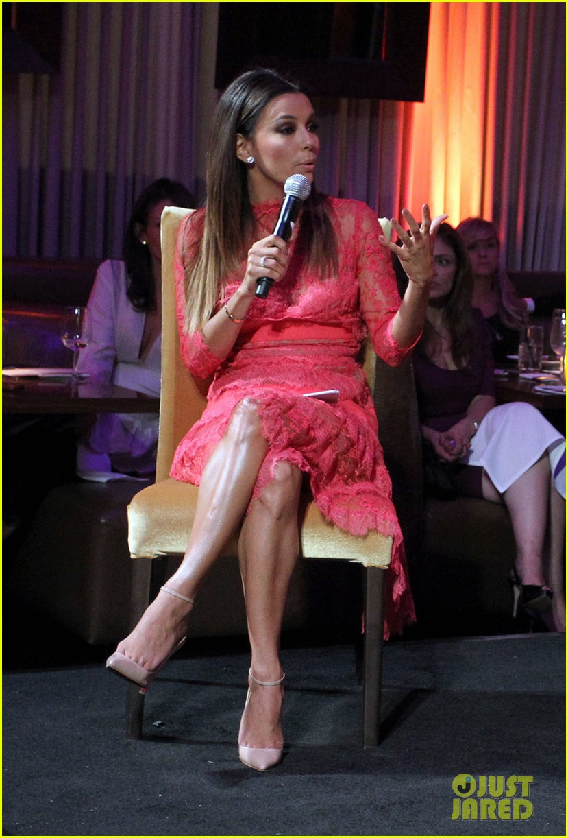eva longoria attends her foundations dinner with friends 222962297
