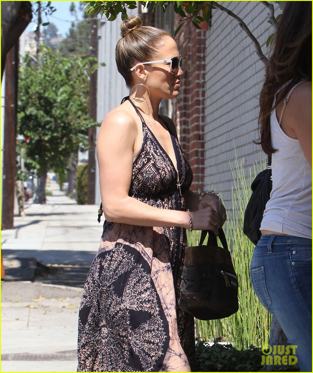 jennifer lopez recording studio with robin thicke 042953149