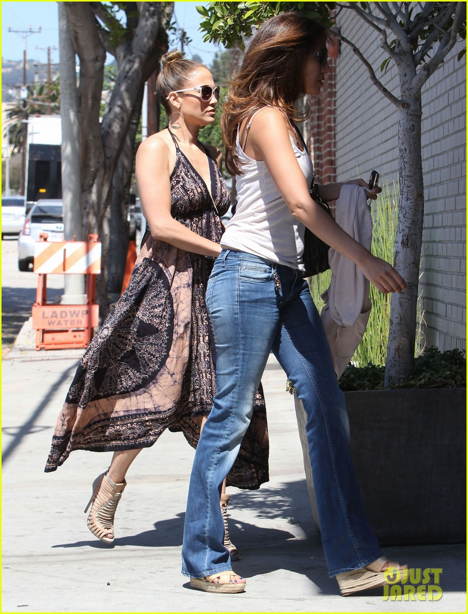 jennifer lopez recording studio with robin thicke 10