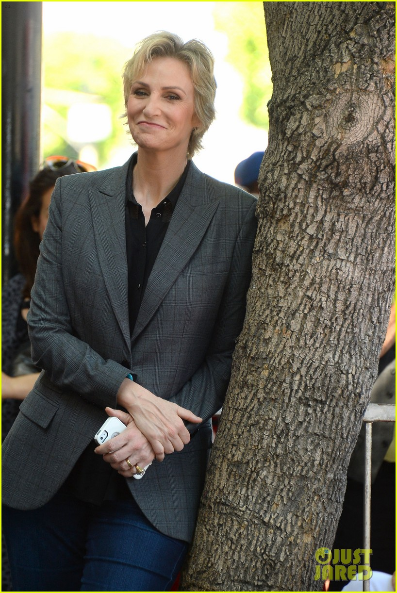 jane lynch receives star on hollywood walk of fame 092943843