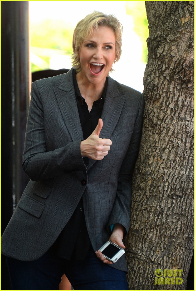 jane lynch receives star on hollywood walk of fame 112943845
