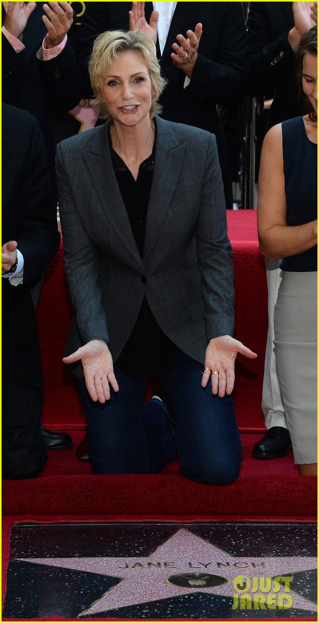 jane lynch receives star on hollywood walk of fame 15