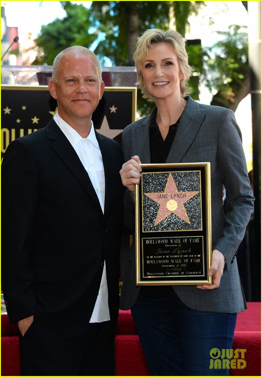 jane lynch receives star on hollywood walk of fame 16
