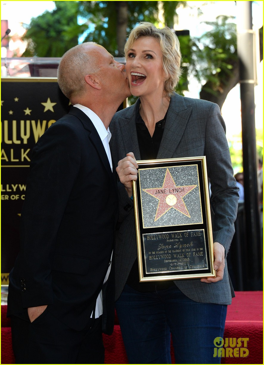 jane lynch receives star on hollywood walk of fame 17