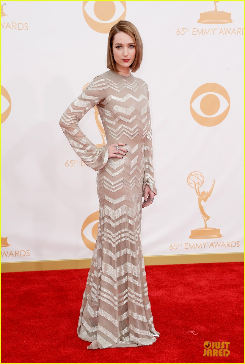 kate mara kristen connolly emmys 2013 red carpet 062958205