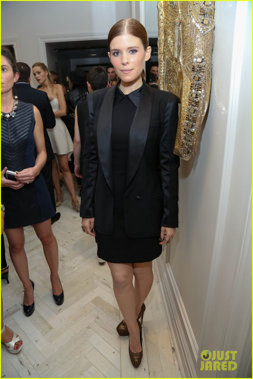kate mara carly rae jepsen badgley mischka store opening 132950043