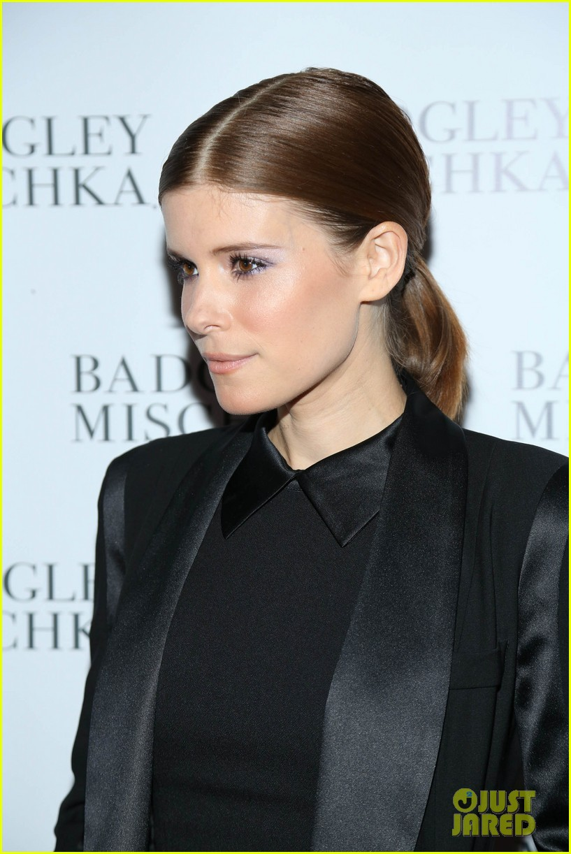 kate mara carly rae jepsen badgley mischka store opening 142950044