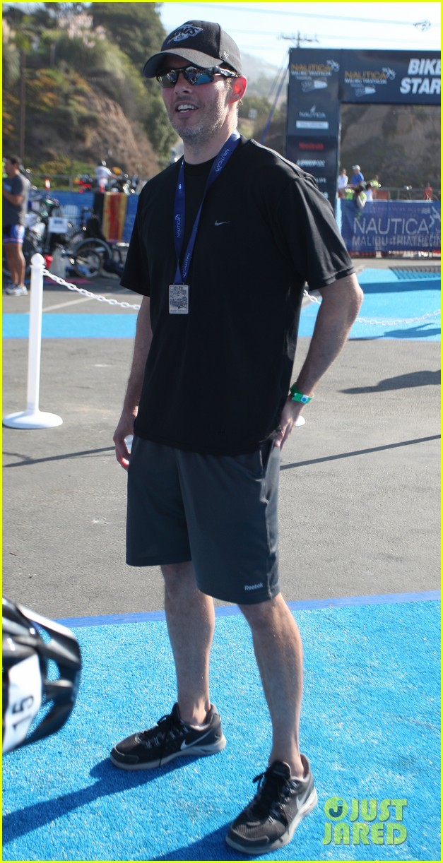 james marsden jeremy sisto nautica malibu triathlon 2013 022947861