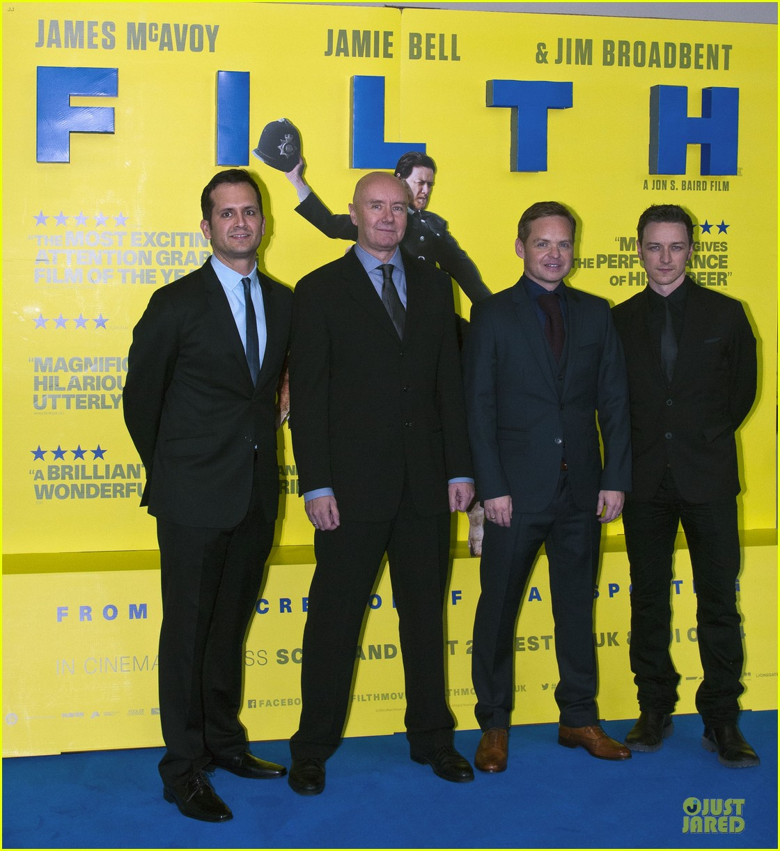 james mcavoy filth scotland premiere 032958822