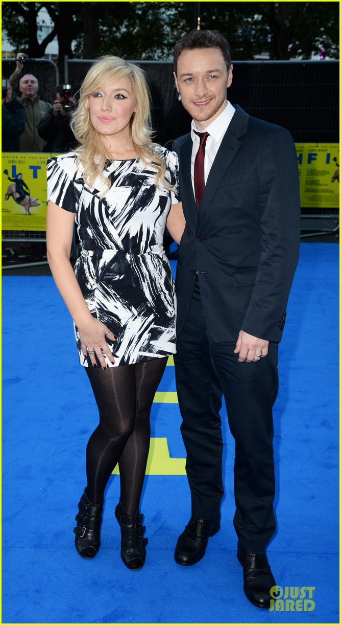 james mcavoy imogen poots filth london premiere 072963400