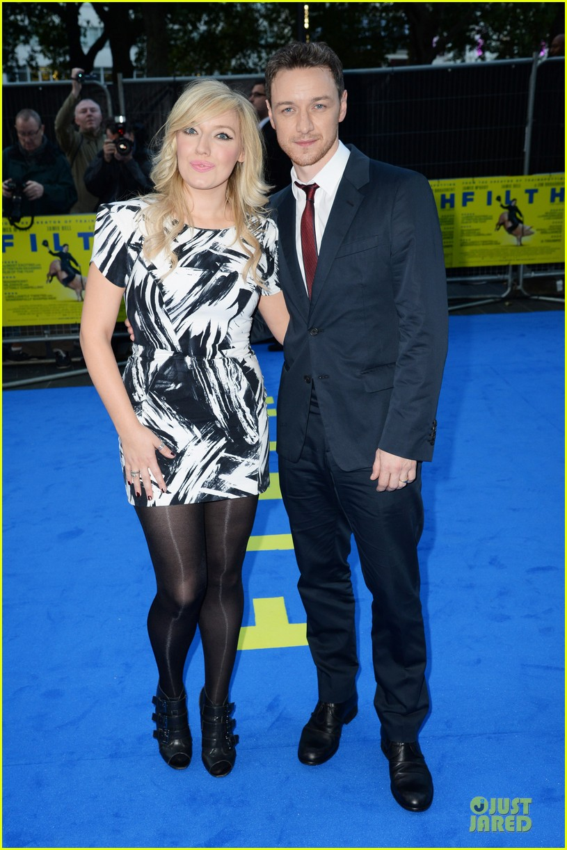 james mcavoy imogen poots filth london premiere 082963401