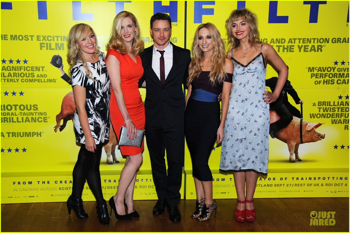 james mcavoy imogen poots filth london premiere 16