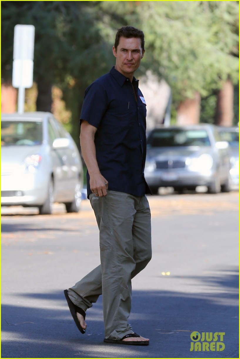 matthew mcconaughey i lost weight without excercise 082958629