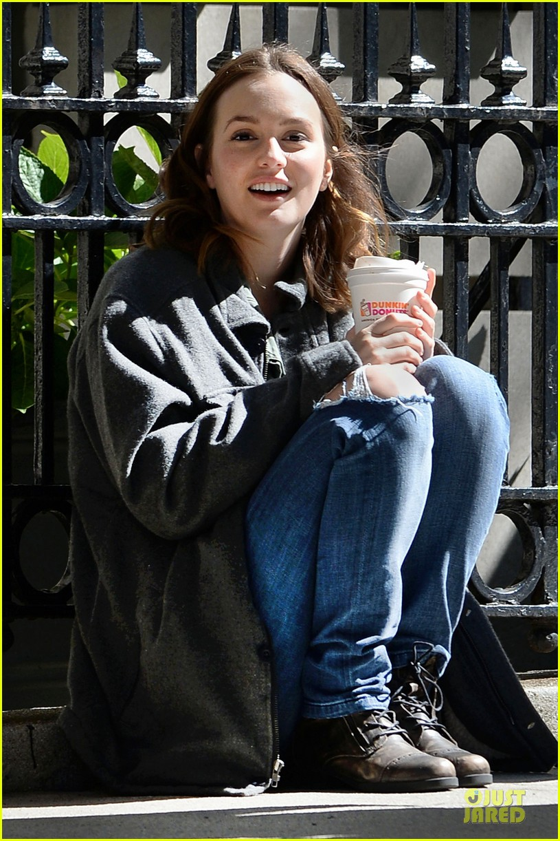 leighton meester like sunday like rain nyc shooting 052954424