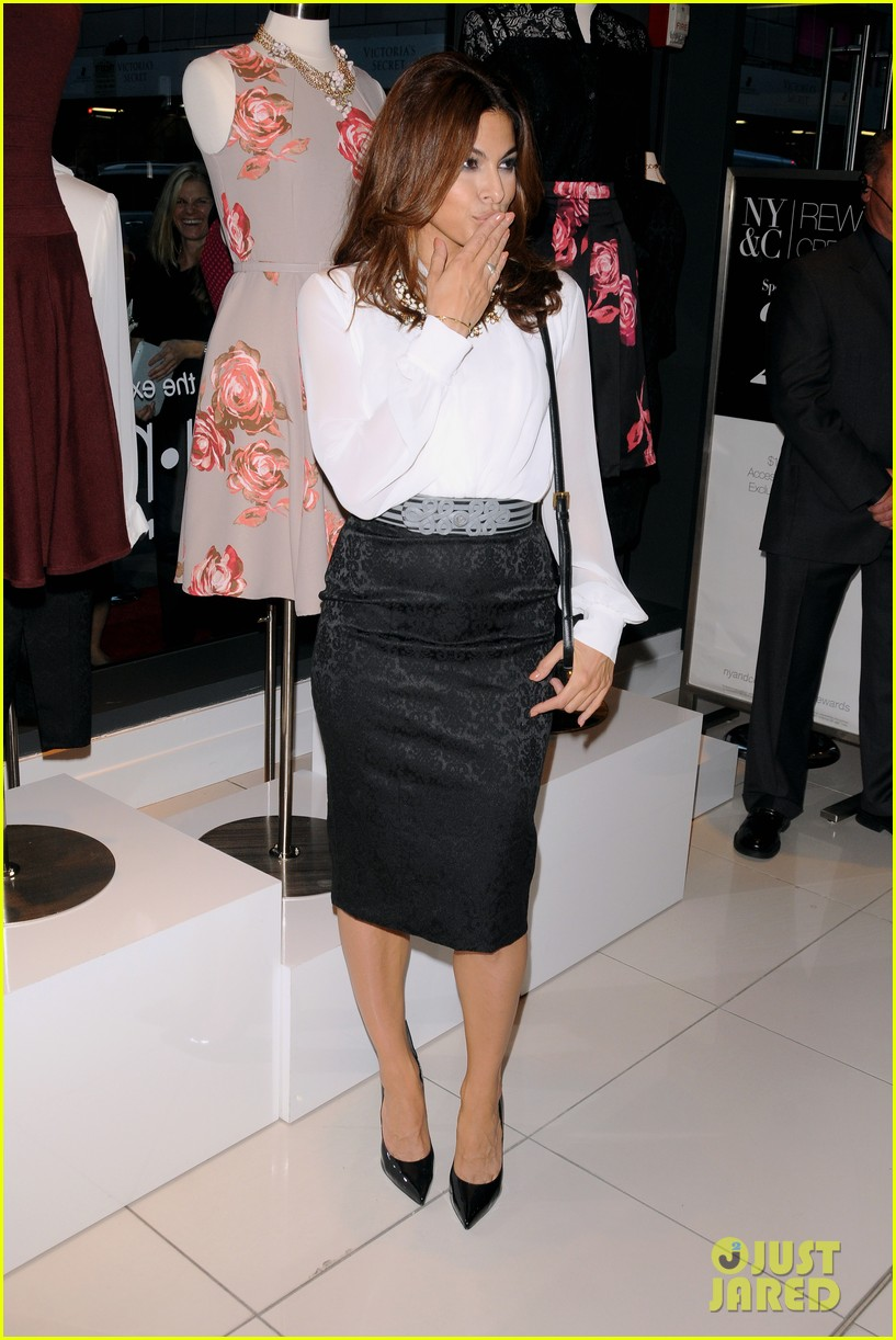 Full sized photo of eva mendes launches her new york for New york and company dress shirts