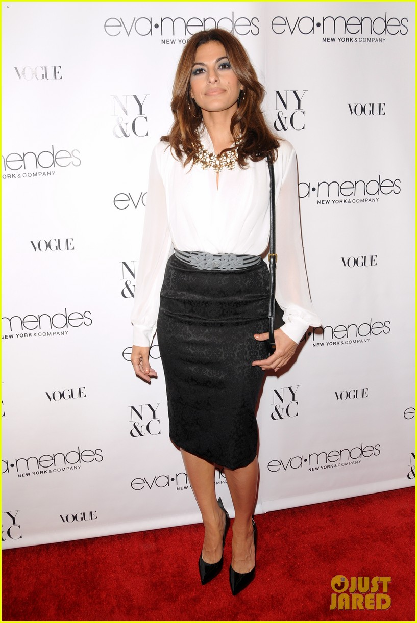 eva mendes launches her new york company clothing line 082954834