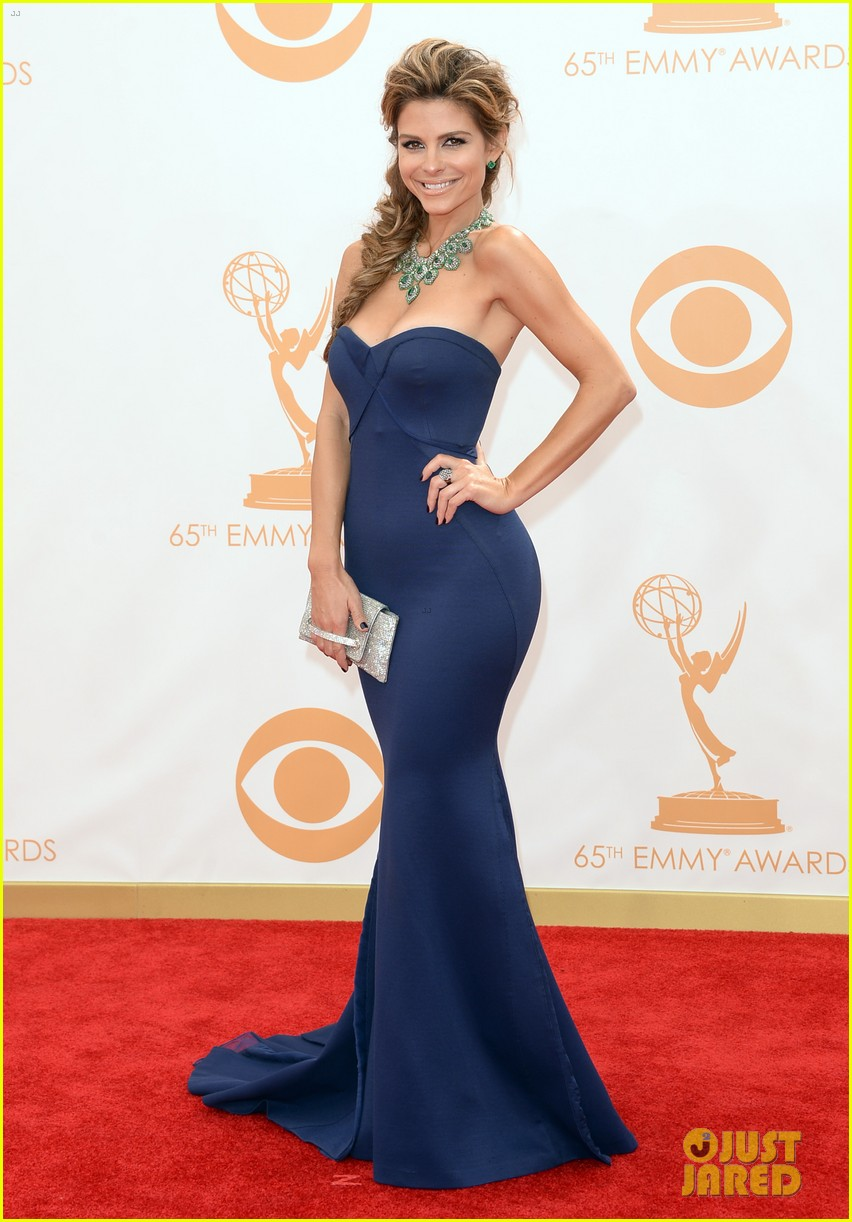 maria menounos mario lopez emmys 2013 red carpet 142957865