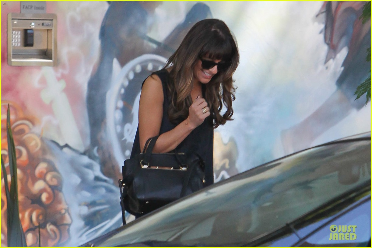 lea michele no matter how you feel never give up 022959356