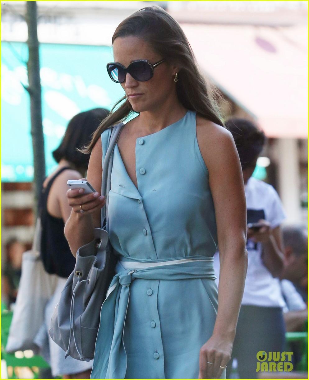 pippa middleton steps out after false engagement rumors 052943898