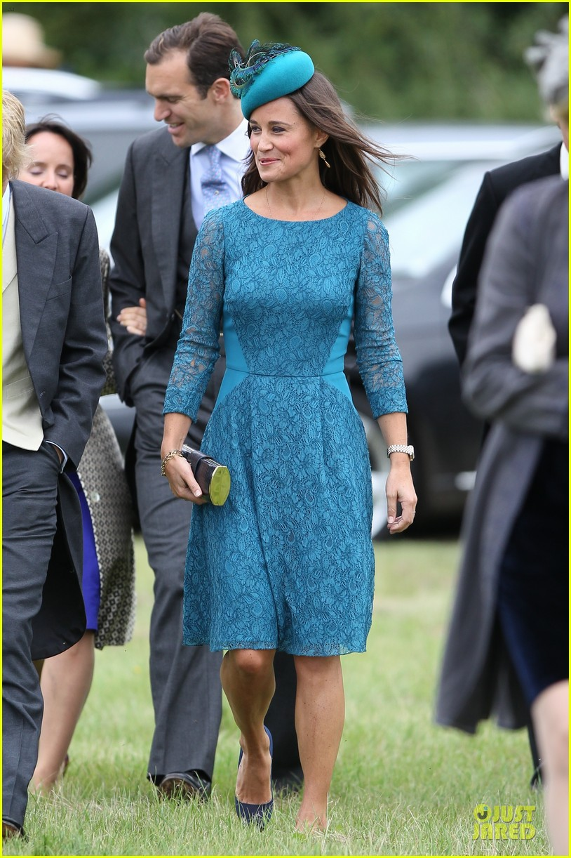 Pippa Middleton: Norfolk Wedding with Prince William & Harry!: Photo ...