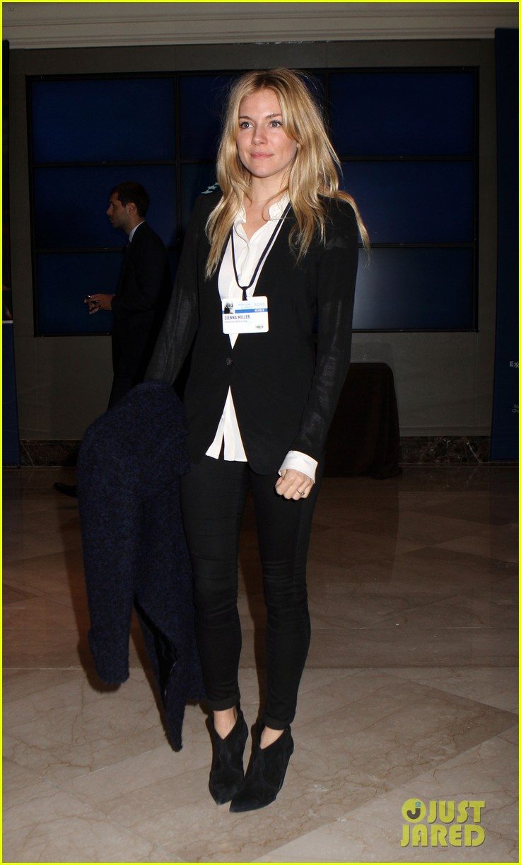 sienna miller clinton global initiative events in new york 162960725