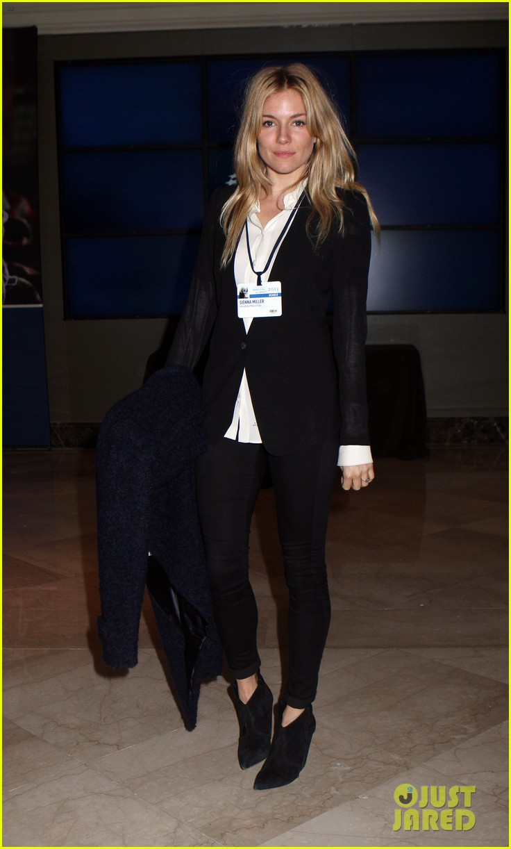 sienna miller clinton global initiative events in new york 172960726