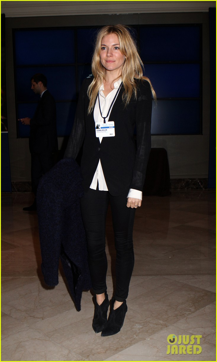 sienna miller clinton global initiative events in new york 192960728