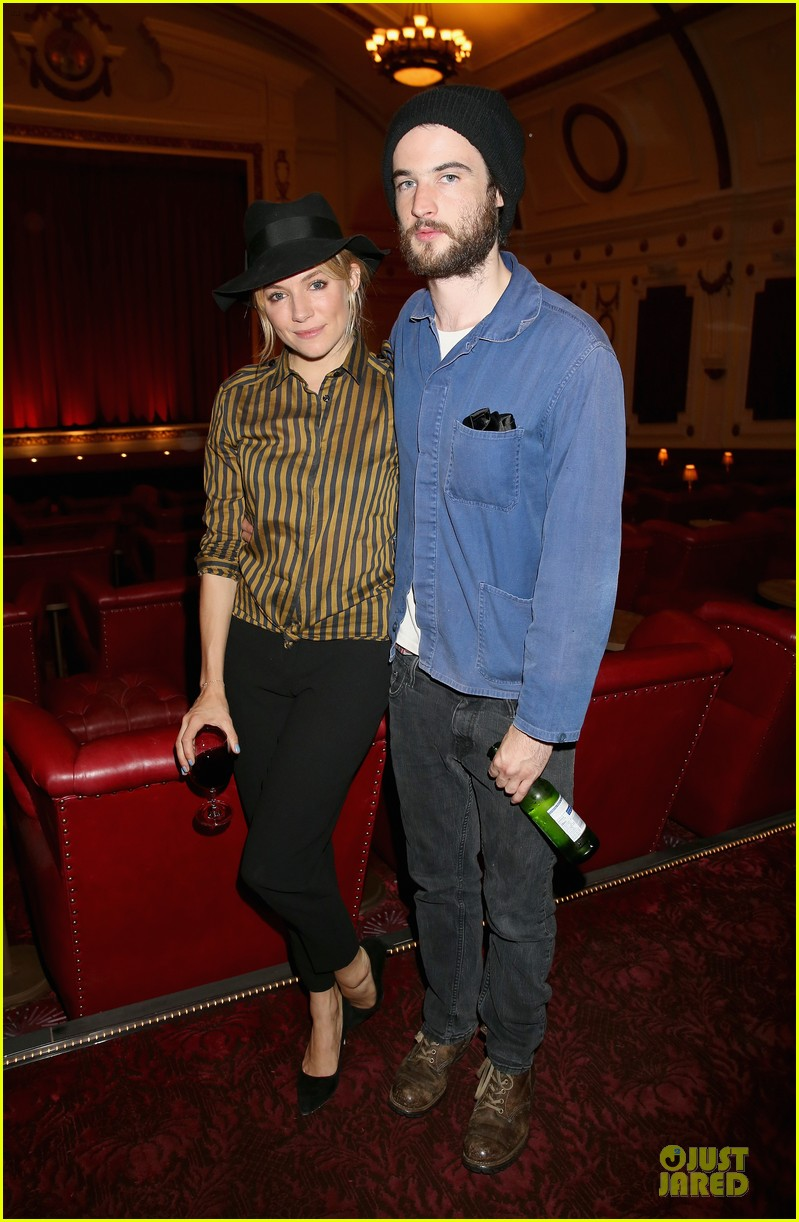 sienna miller tom sturridge about time london screening 01