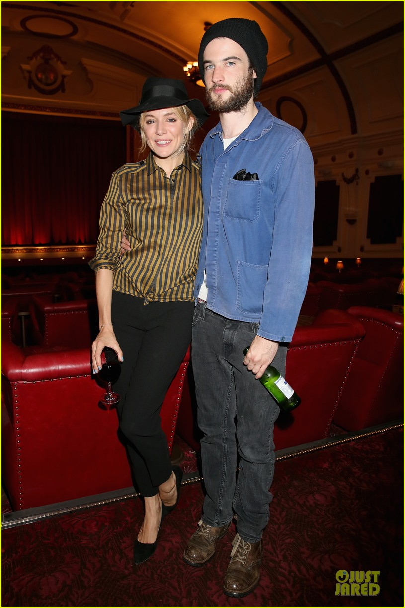 sienna miller tom sturridge about time london screening 032943270