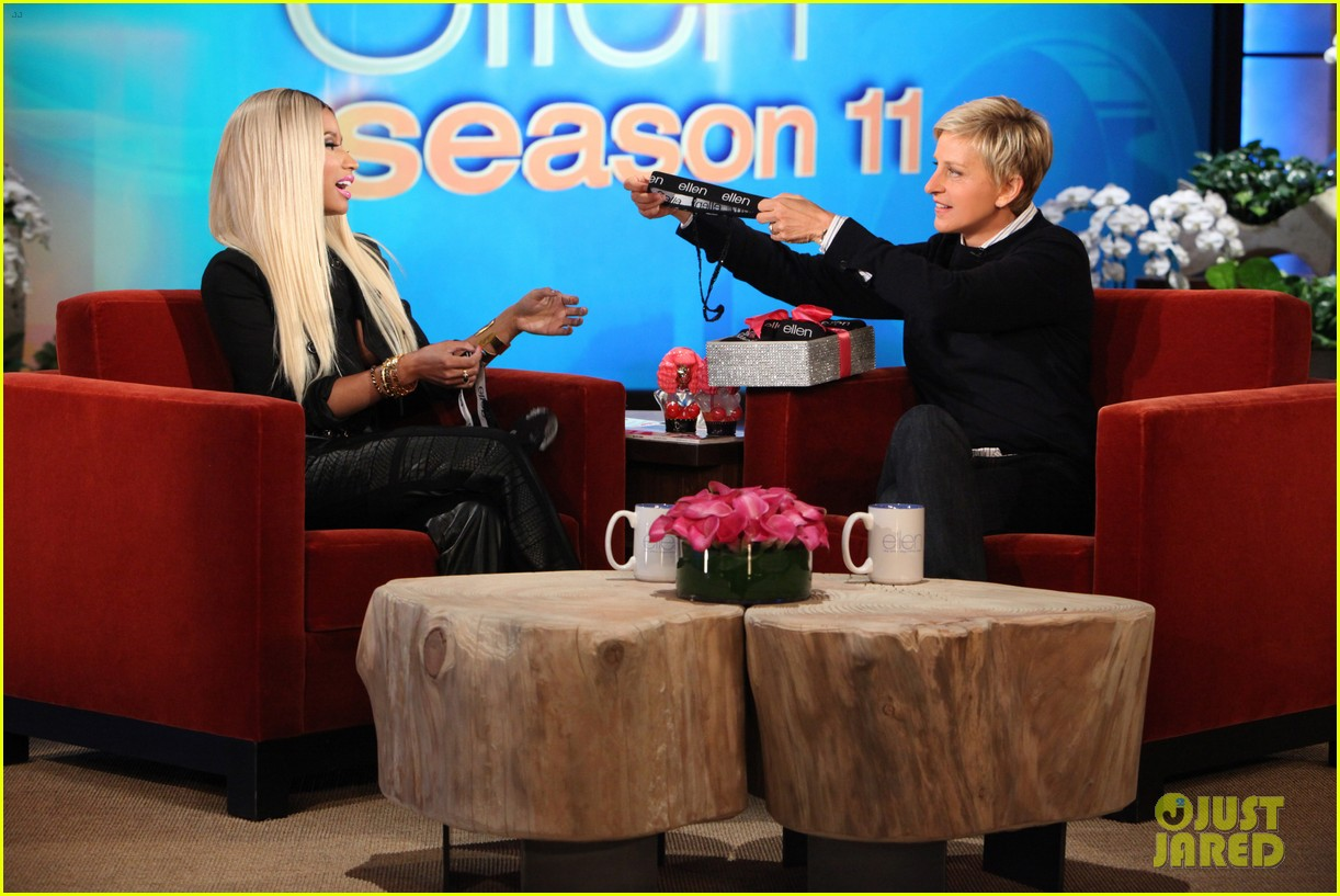 nicki minaj talks american idol exit on ellen 032960346