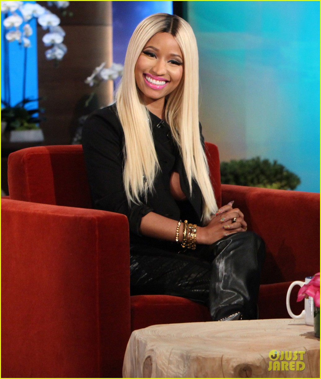nicki minaj talks american idol exit on ellen 042960347