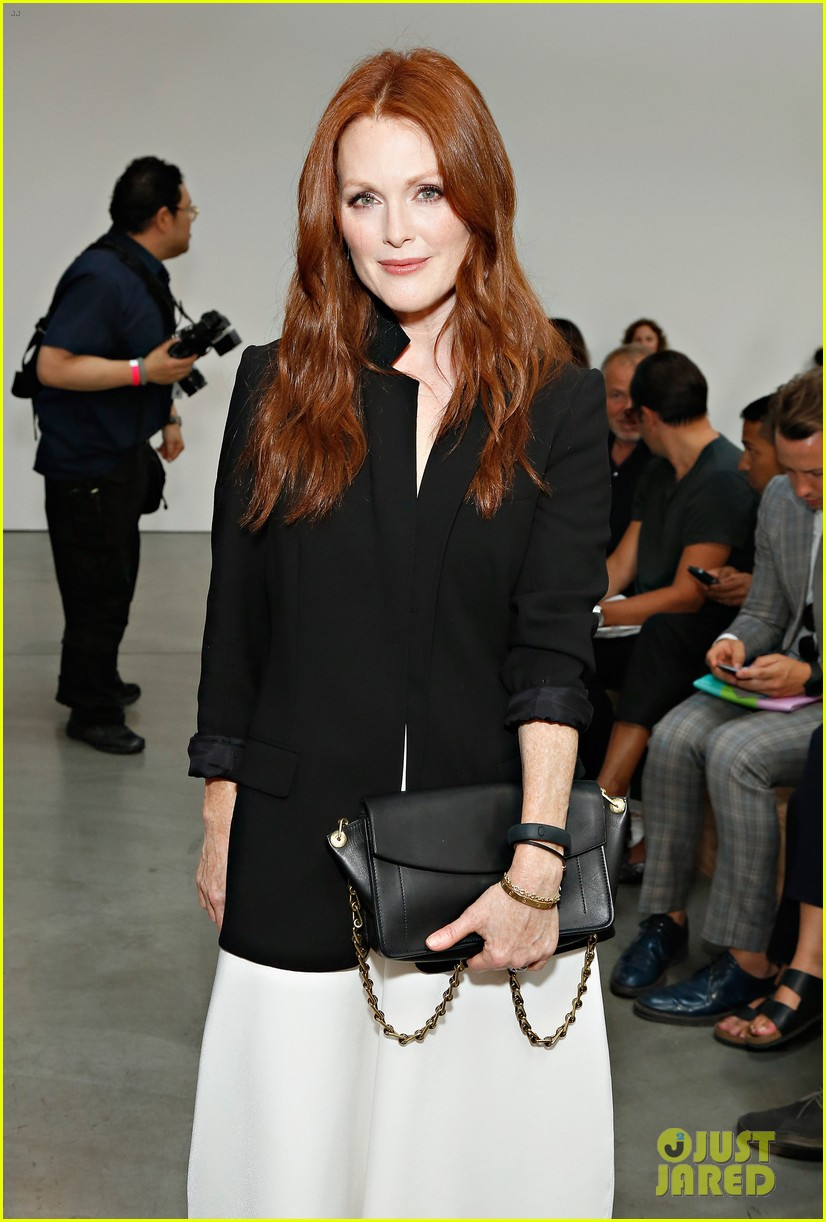 julianne moore allison williams reed krakoff fashion show 192950560