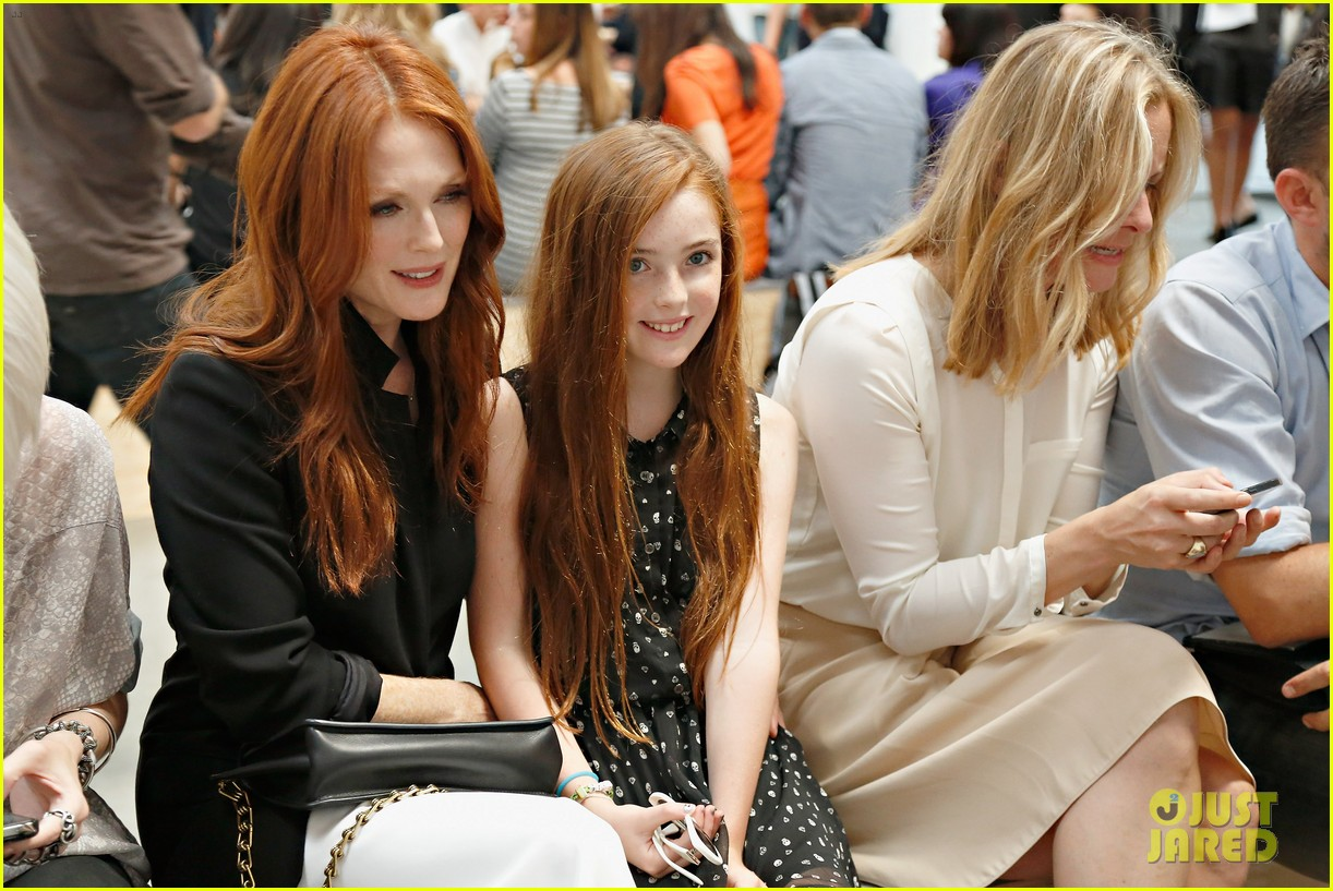 julianne moore allison williams reed krakoff fashion show 222950563