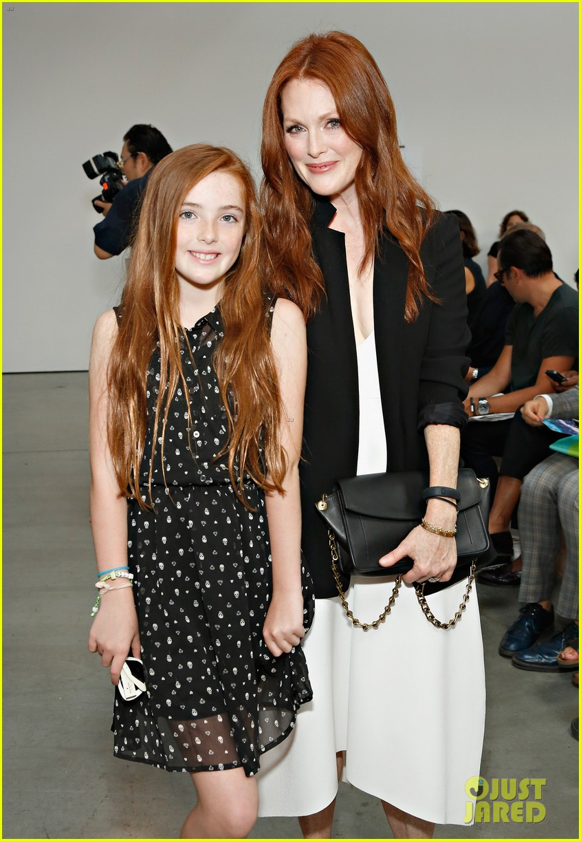 julianne moore allison williams reed krakoff fashion show 232950564