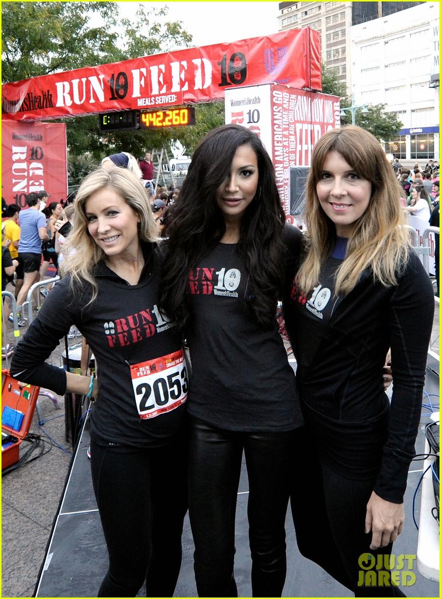 naya rivera womens health 10k nyc race 052957602