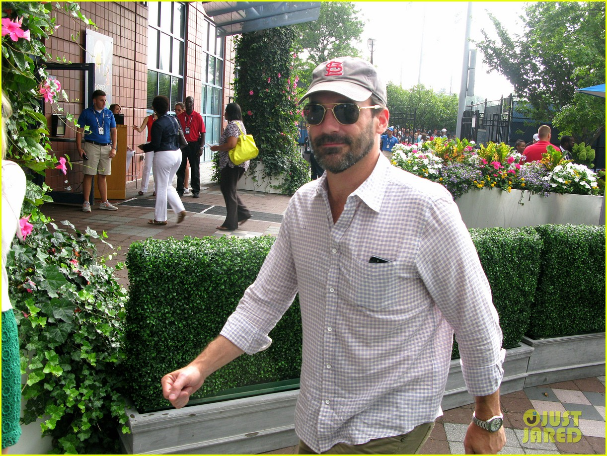 elizabeth olsen jon hamm us open labor day sightings 052942687