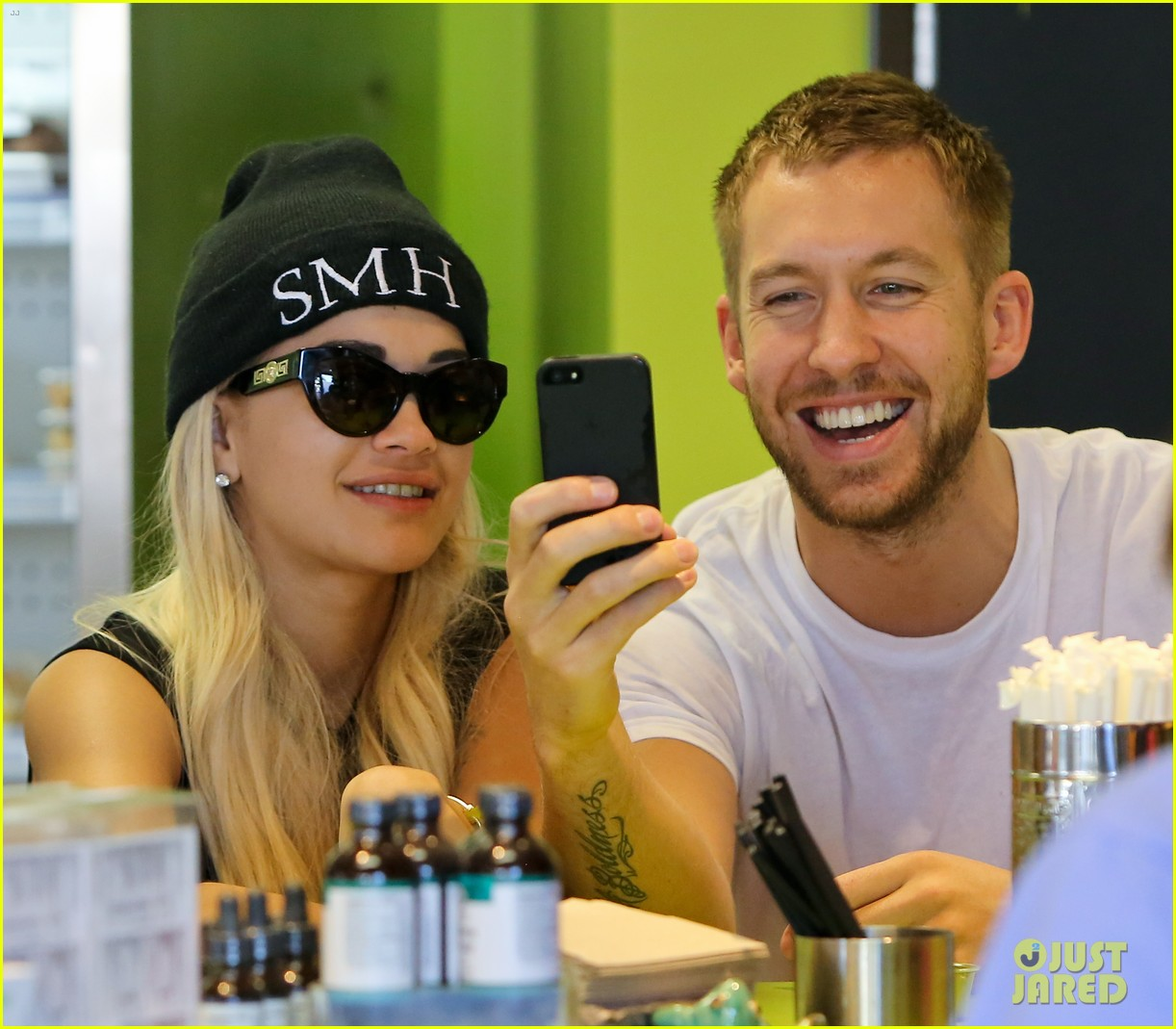 rita ora spa time after fun weekend with calvin harris 062958637