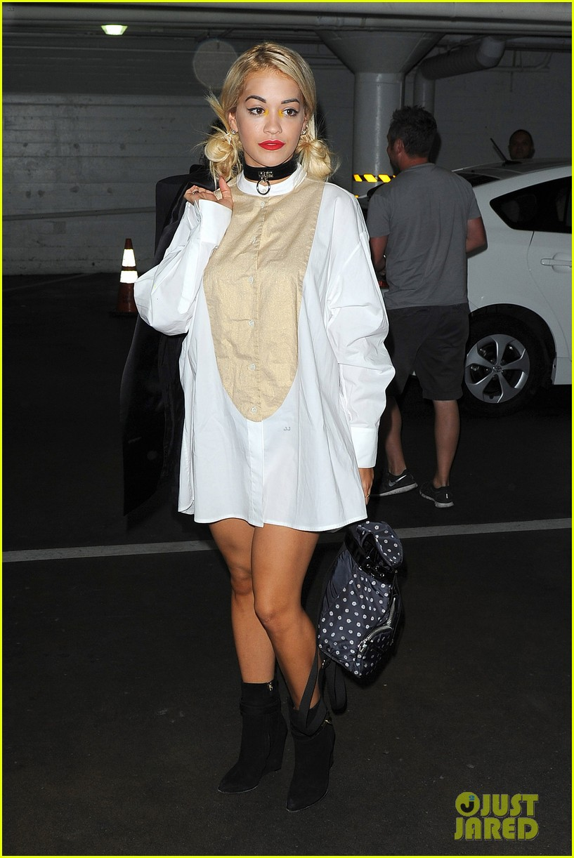 rita ora spa time after fun weekend with calvin harris 162958647