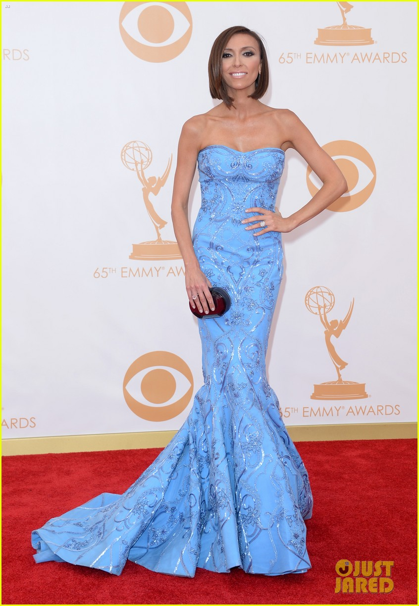 kelly osbourne giuliana rancic emmys 2013 red carpet 062957875
